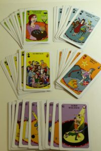 The complete deck of Circus Cards